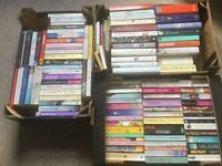 120 books - mainly fiction by popular authors (£4 the lot)