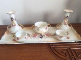 Crown Devon Dressing Table Set