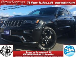 2015 Jeep Grand Cherokee Overland | 4WD | DIESEL | HEATED LEATHE