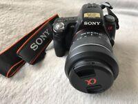 Sony alpha a55 camera
