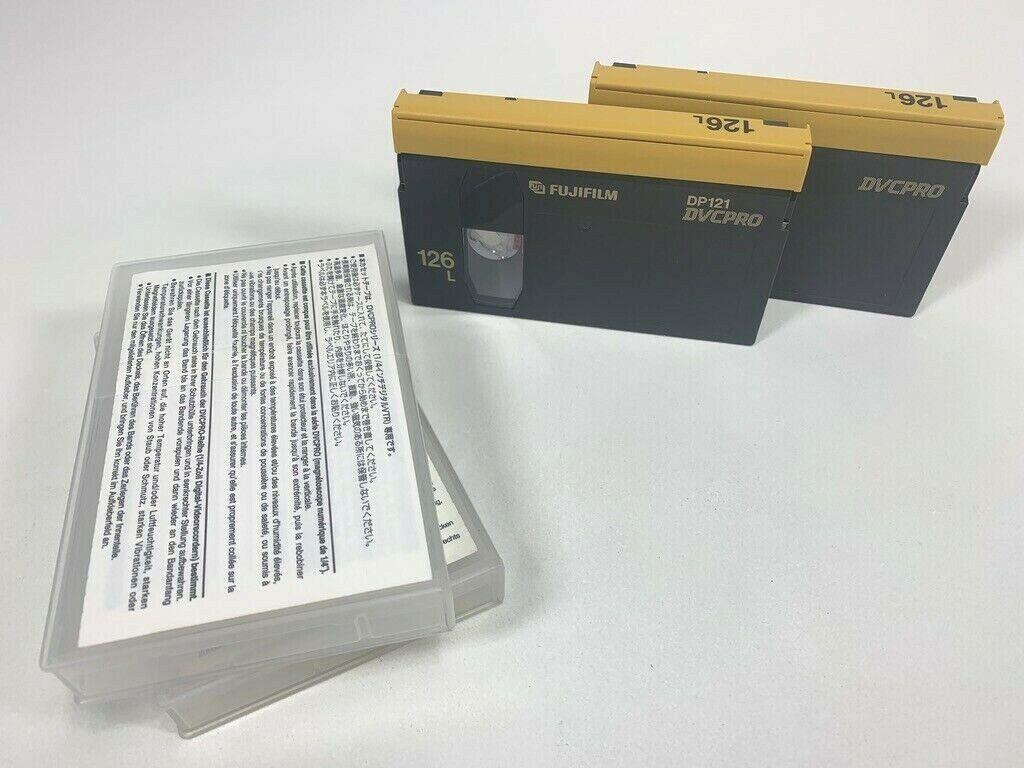 Panasonic AJ-P126LP DVCPRO Tape 126L