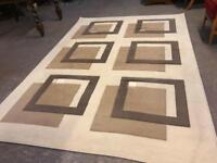 Large good quality rug in beautiful condition .