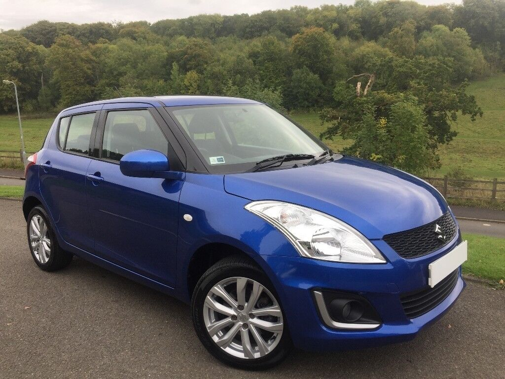 2014 suzuki swift 4x4 sz3 4wd 1 2 petrol 5dr met blue low. Black Bedroom Furniture Sets. Home Design Ideas