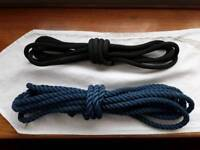 Two Exercise Ropes