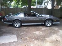 1983 Chevrolet Camaro z28 7000 obo will sell rolling