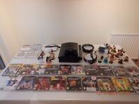 Playstation 3 Games Console / Controller / Skylanders / 23 Games / Disney Infinity