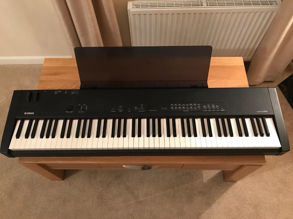 yamaha cp33 stage piano in kilsyth glasgow gumtree. Black Bedroom Furniture Sets. Home Design Ideas