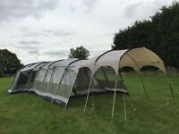 Outwell Montana 6 Tent package - includes Tent, Awning, Extension, canopy and footprint