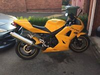 Triumph Daytona 600, 12000 miles from new Hpi clear
