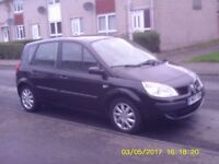 Renault scenic 1.6 mpv black 12 month mot £1100 manual