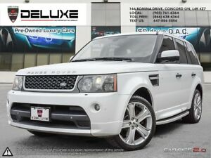 2011 Land Rover Range Rover Sport HSE GT  LUXURY WHITE ON BLA...