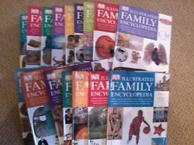 SET OF 16 FAMILY ENCYCLOPEDIAS