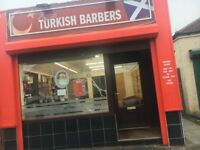 Turkish barber