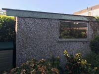 FREE Concrete Garage FOR FREE