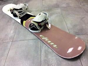 Snowboard Planche à neige ELAN Royale 140cm + Fixations  #F019366