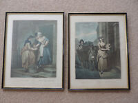 Two Vintage Cries of London Prints by FW Wheatley