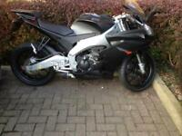 Aprilia RS4 125cc Matt black (showroom condition with many extras)