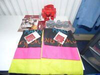Kitchen Tea Towels & Cookie Cutters Bundle NEW