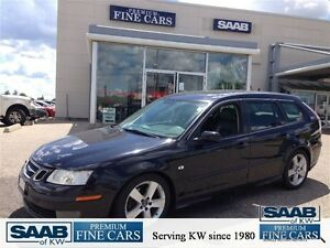 2006 Saab 9-3 Aero Auto *RARE*-Leather-Sunroof Kitchener / Waterloo Kitchener Area image 1