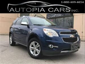 2010 Chevrolet Equinox LTZ / ALL WHEEL DRIVE / BACKUP CAMERA