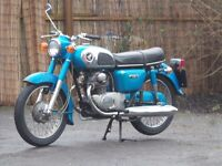 CLASSIC 1975 HONDA CD175 LOW MILEAGE WITH MOT DELIVERY AVAILABLE SAME OWNER SINCE 1981