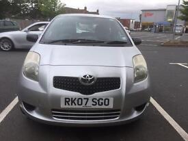 Toyota Yaris --- Low mileage ---- Very Good Condition--- OPEN TO OFFERS!!