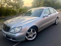 2004 Mercedes S class s350 Limosuine # sat nav # leather # xenons # s/roof # p/sensors # s/h