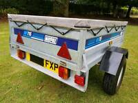 Maypole 5x3 ft tipping trailer