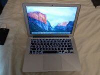 "Apple MacBook Air, 13.3"", Intel i5 1.3Ghz Proessor,4GB, 128gb. SSD.HD,OS X El Capitan, A1466-2013:"