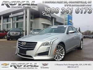 2016 Cadillac CTS 3.6 Performance Collection  - $263.16 B/W - Lo