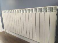 Aluminum radiators for central heating