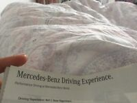 5 tickets for 4+4 experience Mercedes Benz world