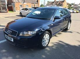 AUDI A3 1.6 PETROL 05 PLATE MANUAL EXCELLENT CONDITION £995