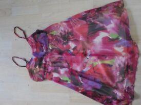 Beautiful Summer Dress Size 14 - Collect PE27