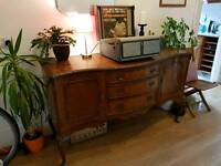 Vintage sideboard for sale great upcycle project, would look great painted an off white.