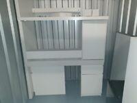 Small Office Supplies (3x Desks, 2x Chairs, Russel Hobs Mini-Fridge & more)