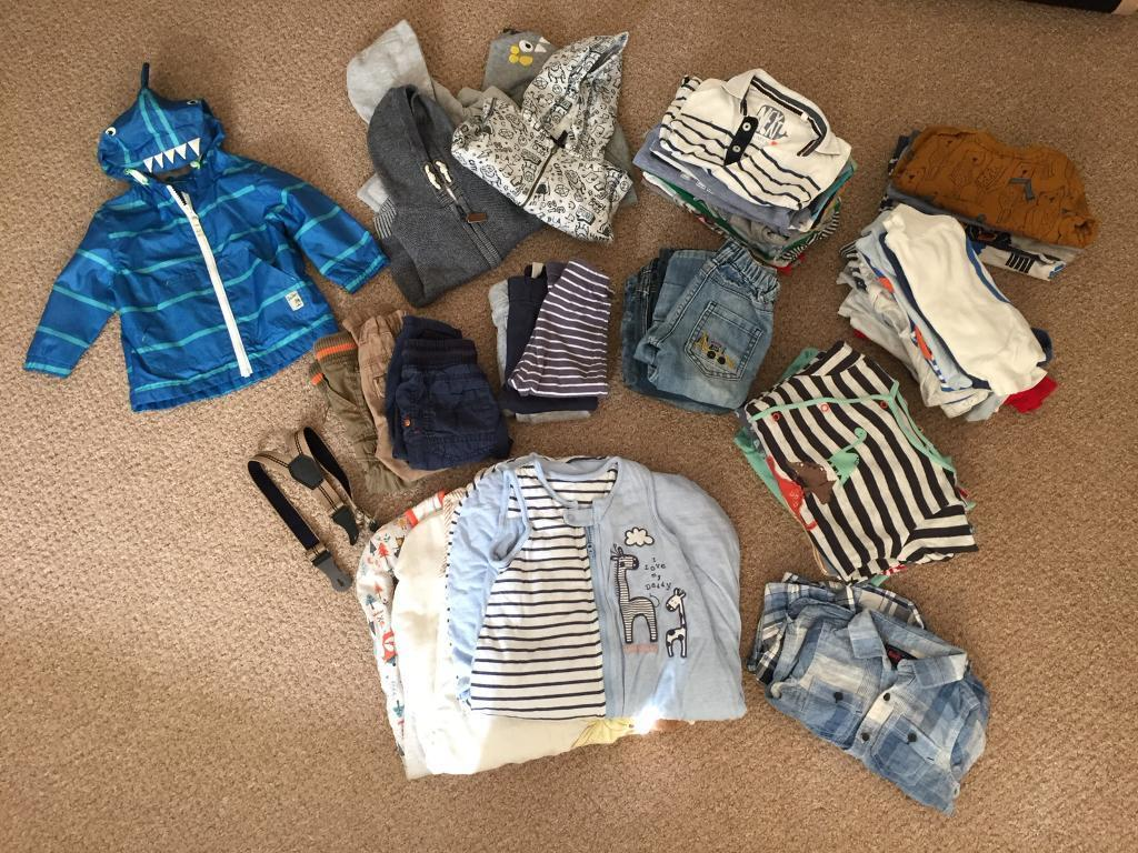 9-12 Month Baby/Toddler Clothes Bundle
