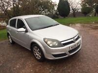 2005 VAUXHALL ASTRA 1600 CLUB TWIN PORT FANTASTIC CONDITION NEW CAM BELT WARTER PUMP AND SERVICE