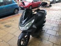 HONDA PCX 125cc Matt grey 2015 low mileage hpi clear!!!