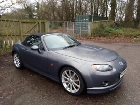 Great handling MX5 Sport 2.0l space grey with body kit