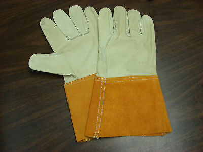 Gloves-Leather Welders Mig/Tig sold in pks 12 Cordova M-L sz