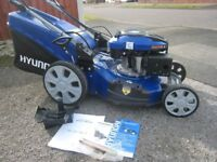 Hyundai HYM51SPE Petrol Lawnmower Electric Start Self Propelled (3 Speed) 2 Years Old Stunning Mower