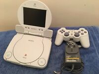 Sony PSOne and LCD Screen Bundle (Very rare! Retro)