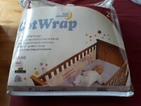 Breathable Safe Dreams Cot Wrap/Bumper RRP 23.99