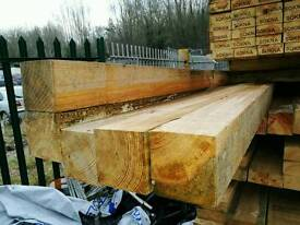 4x4 Rough Sawn Timber (100mm x 100mm) - Various Lengths