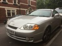 Hyundai Coupe 2.7 2002 with long MOT