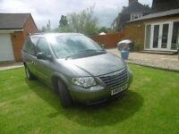 CHRYSLER VOYAGER LX AUTOMATIC DIESEL 06 PLATE, LOW MILES FSH