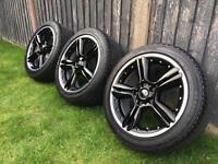 "18"" Genuine Split BMW Mini Wheels and Tyres, 5x120, Paceman, Countryman R60 R127"