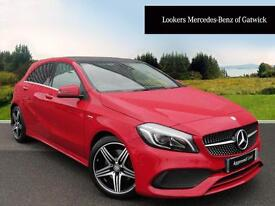 Mercedes-Benz A Class A 250 AMG PREMIUM (red) 2016-05-14