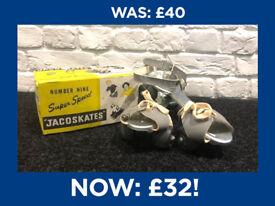 Magic Breakfast: Vintage Jaco Roller Skates